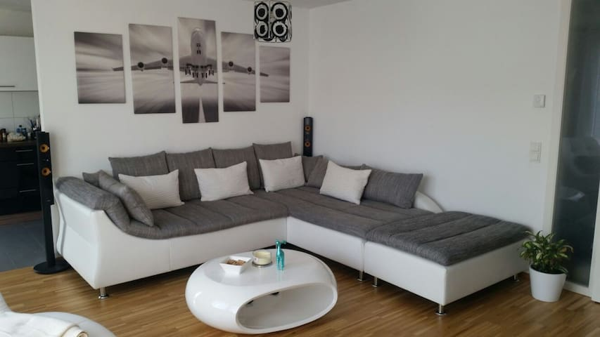 Ganzes Apartment am Flughafen/Messe - Ostfildern - Appartement