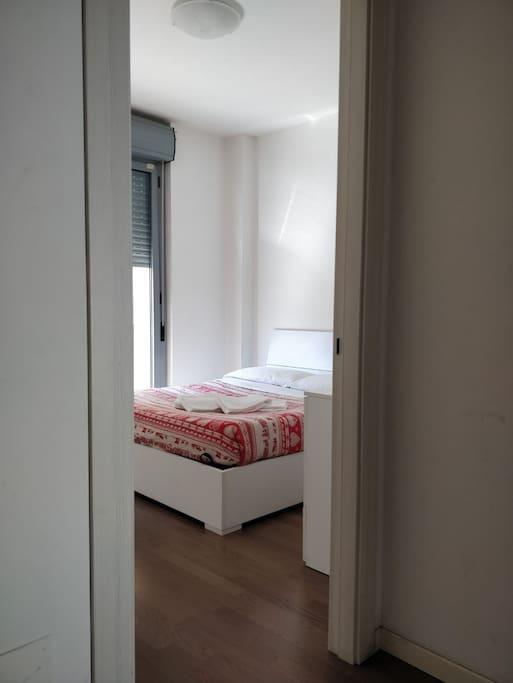 Bedroom 2: 1 double bed