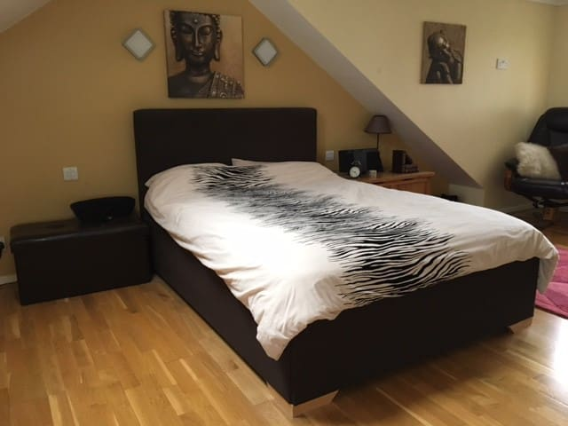 Spacious En Suite Double Room - East Grinstead - 獨棟