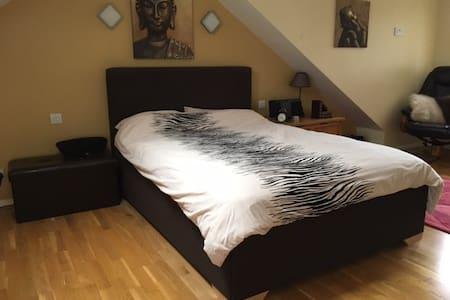 Spacious En Suite Double Room + Free parking - East Grinstead - 獨棟