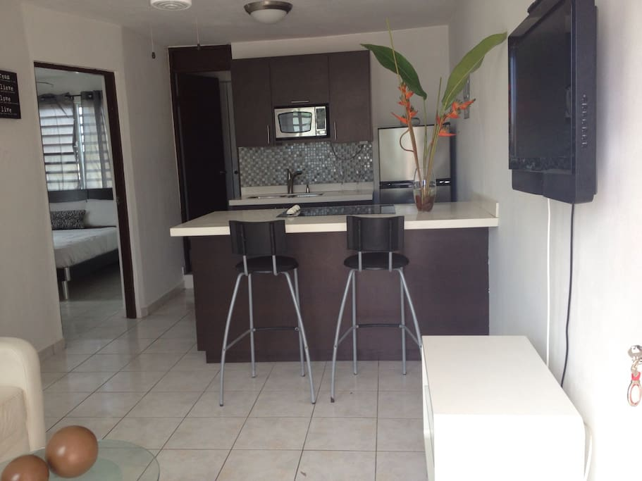 Beautiful 2br apt, open space from kitchen & living room. Lot of natural light & Ocean Breeze