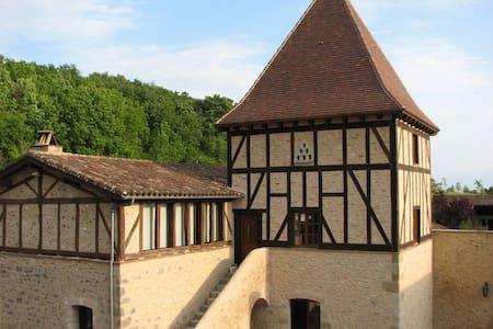 """Château de Missandre """"Colombine"""" - Pinel-Hauterive - Bed & Breakfast"""