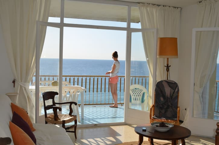 Spacious apartment with breathtaking Sea view. - Blanes - Appartement