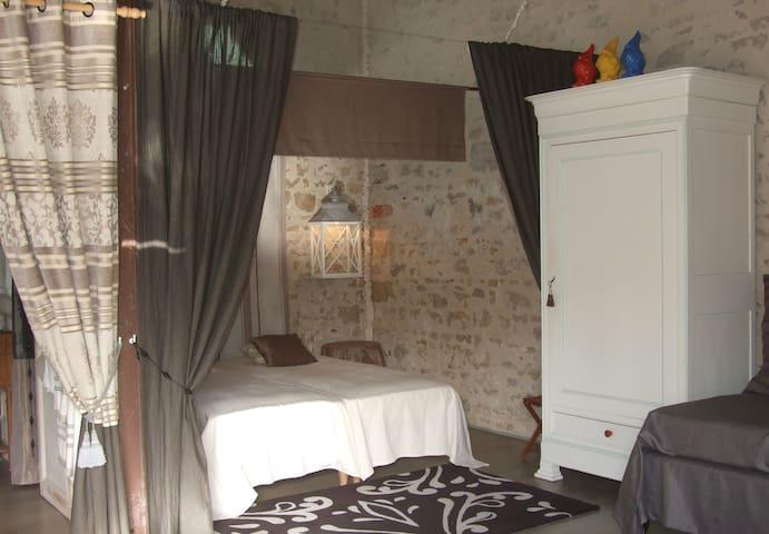 La Maison Salée, chambre d'hôtes  - L'Aiguillon-sur-Mer - Aamiaismajoitus