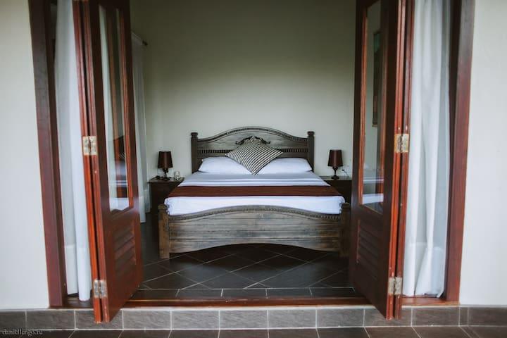 Main Bedroom with French Door