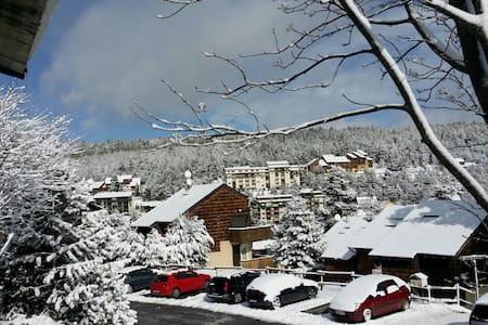 A pié de  pistas de esqui - Bolquère