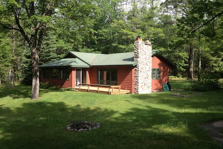Connect to the Northwoods-on water and chain! - Eagle River - Haus