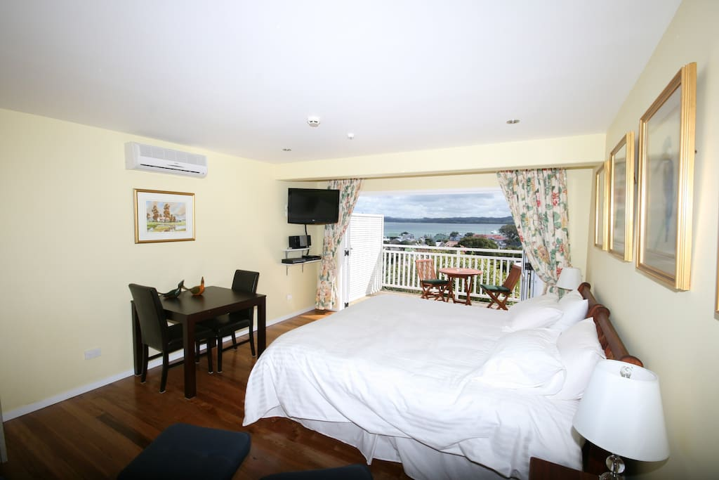 Double room with private deck