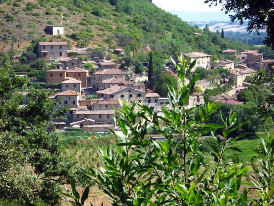 Brenna village