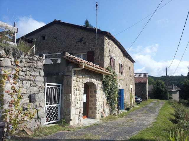 authentic French gîte in ardeche - Saint-Jean-Roure - Talo