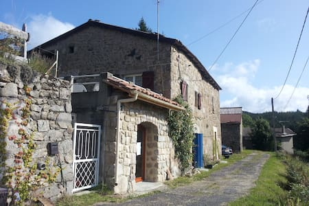 authentic French gîte in ardeche - Saint-Jean-Roure - Huis