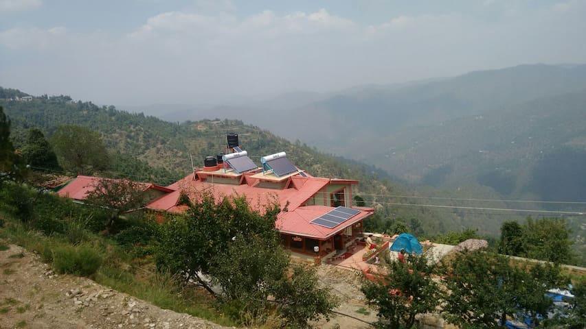 Panchachuli house mukteshwar - Mukteshwar - Rumah