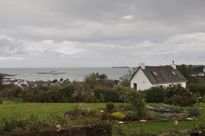 Charme et vue sur mer en Bretagne