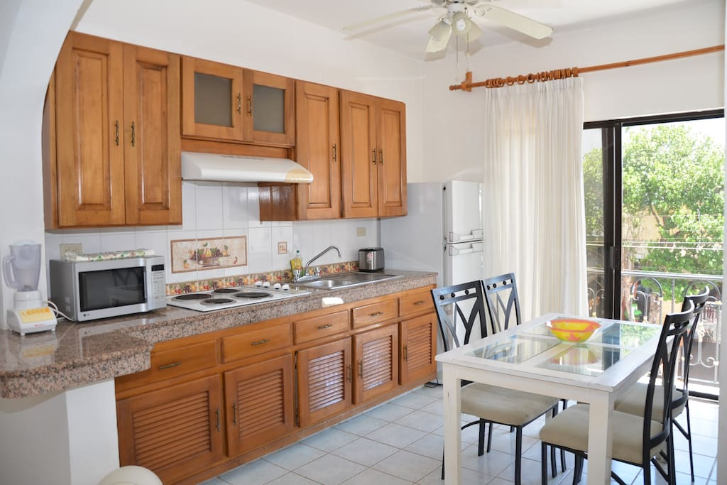 Large Kitchen fully equipped