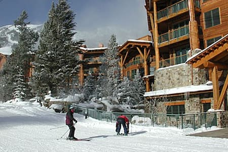3 BR luxury - Teton Club - Steps to gondola & tram - Teton Village - Condominium