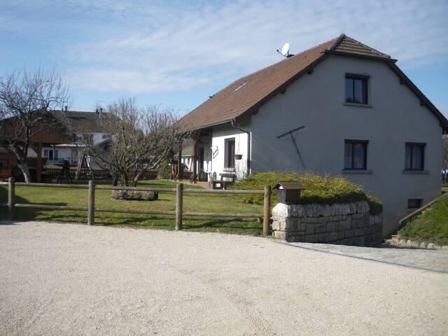Chambre d'hôte  36 m2 calme à Crotenay - Crotenay - Pensió