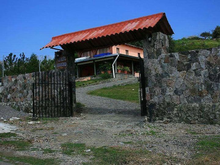 Cabaña en Colima,México.