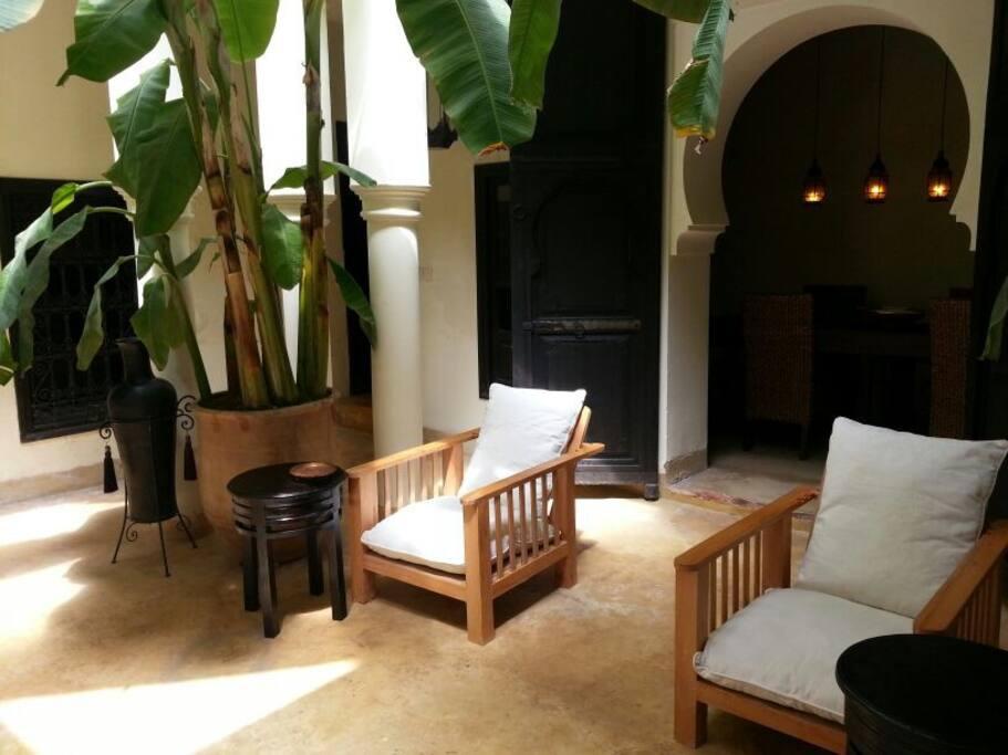 Butacas patio interior