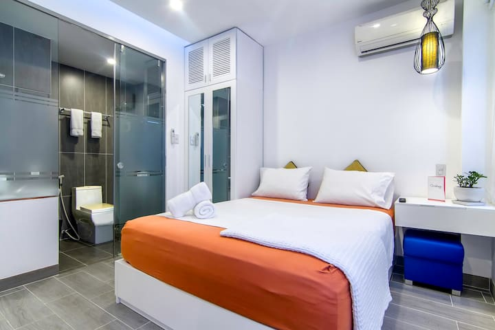 Modern COMPACT studio ❤ Ben Thanh Market - Ho Chi Minh City - Apartment