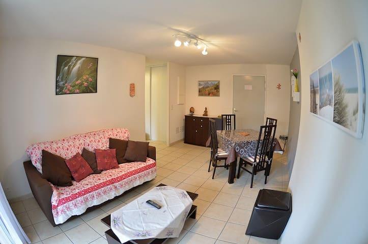 Appartement 4 pers dans une résidence avec piscine - Bias - Apartamento