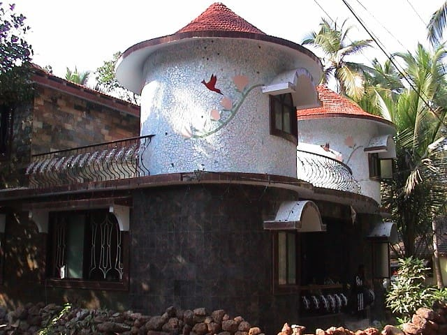 South Goa well furnished  garden home
