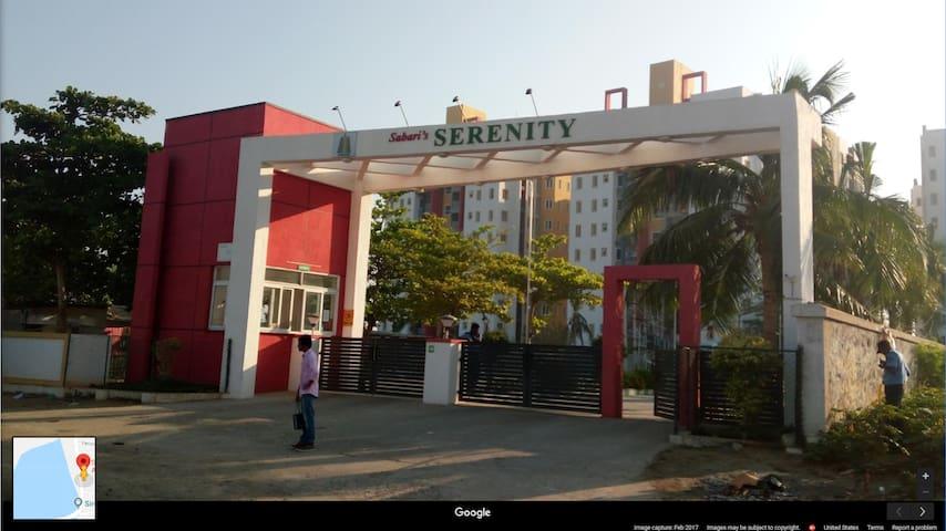 Sabari Serenity Apartment off OMR, Chennai.