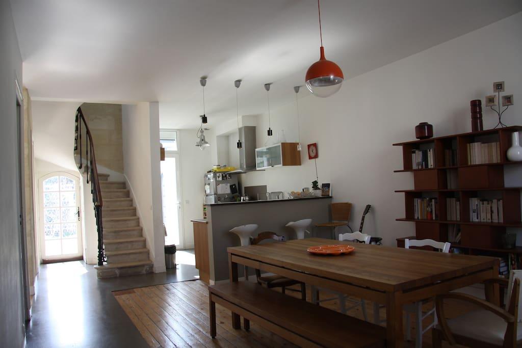 Maison pierre avec jardin maisons louer bordeaux - Maison a louer avec jardin wasquehal dijon ...