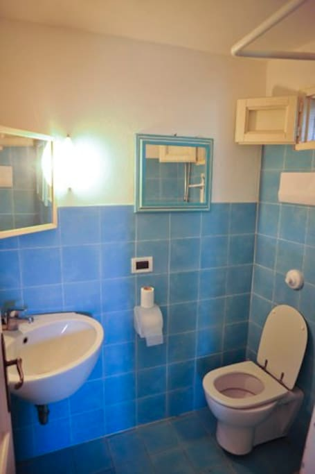 appartment for  2 people - the bathroom is totally new !