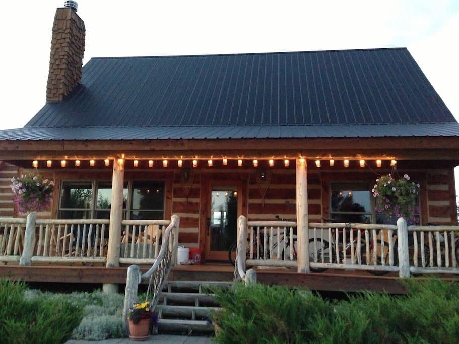 Sunny gunny cabin ski get away houses for rent in for Ski cabin rentals colorado