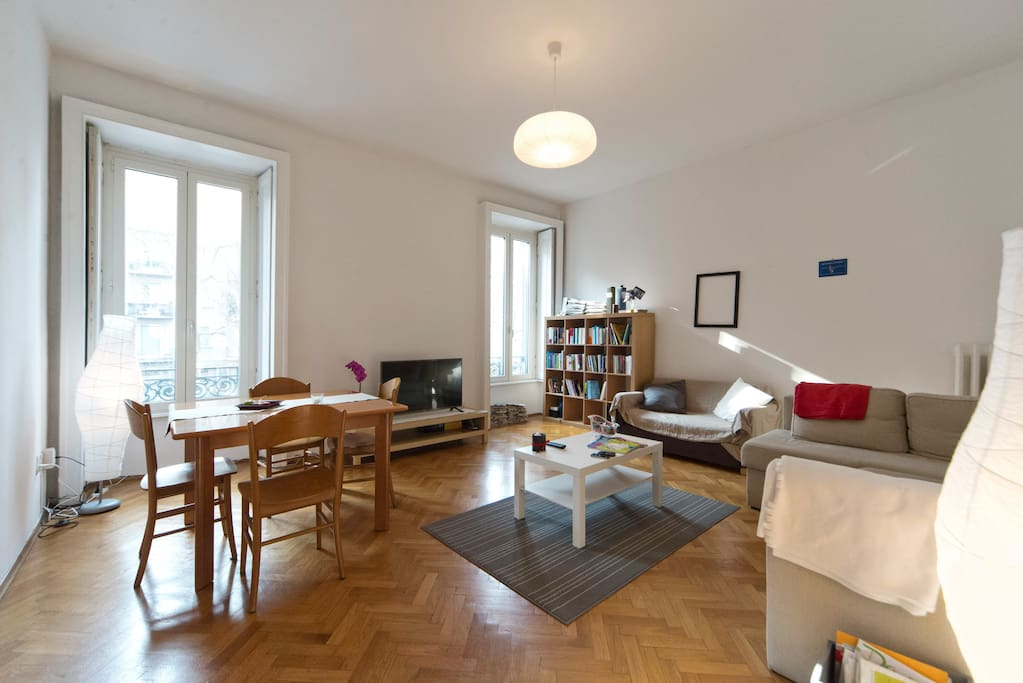 Amazing flat near parco sempione apartments for rent in for Living milano sempione