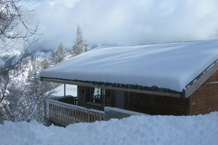 Demi Chalet N° 76, La Norma, vlakbij de pistes - Villarodin-Bourget - กระท่อมบนภูเขา