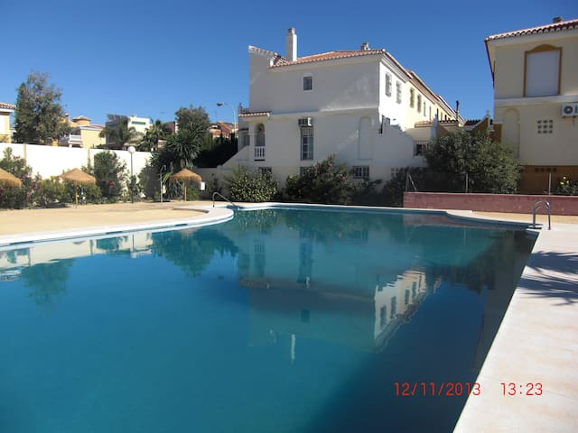 Residencial lujo tranquilo Urb privada, 2 PARKING - Torre del Mar - Dom