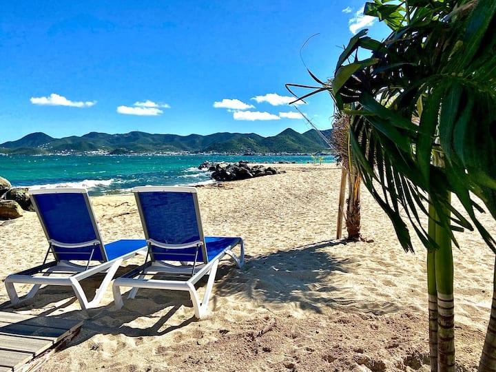 Nouveau ! Sur La Plage Villa 2ch vue mer piscine