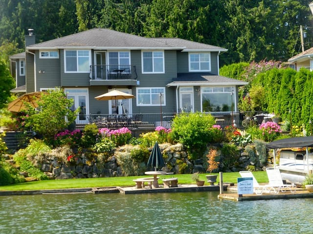 5-bed Lakefront near Tacoma Seattle - Lake Tapps - Rumah