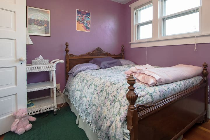 Upstairs Purple Room
