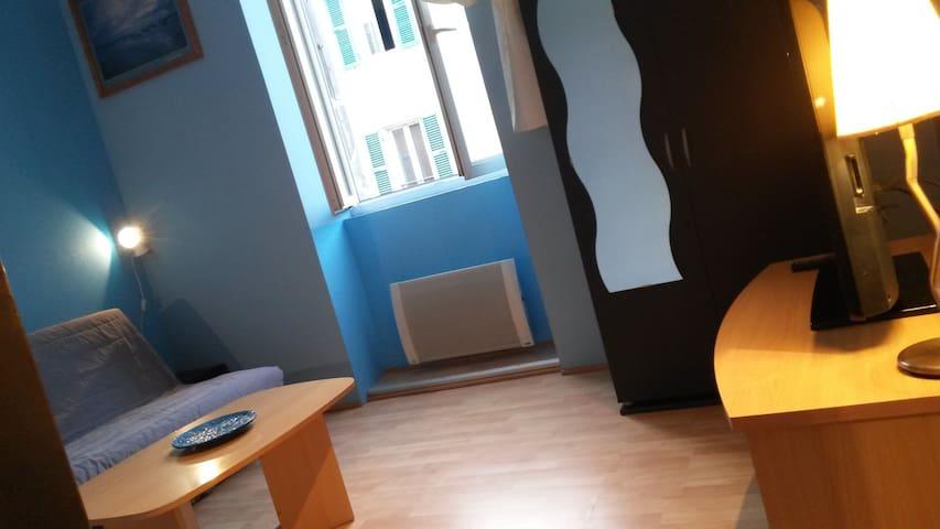Studio Marina avec cours communes - Le Teil - Apartamento