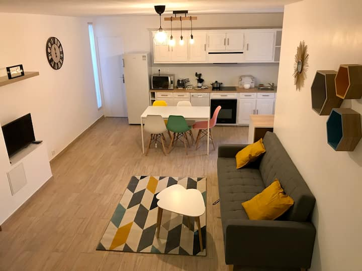 Magnifique appartement décoré avec soin