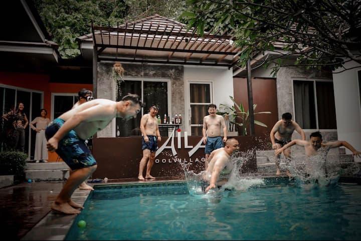 Pool Villa7BD AN EXCLUSIVE15 Min. TO PHUKET TOWN
