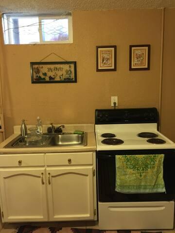 Cozy 1 bedroom basement level apartment - Denver - Apartemen