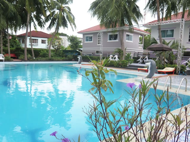 Surin house located in the city with pool view