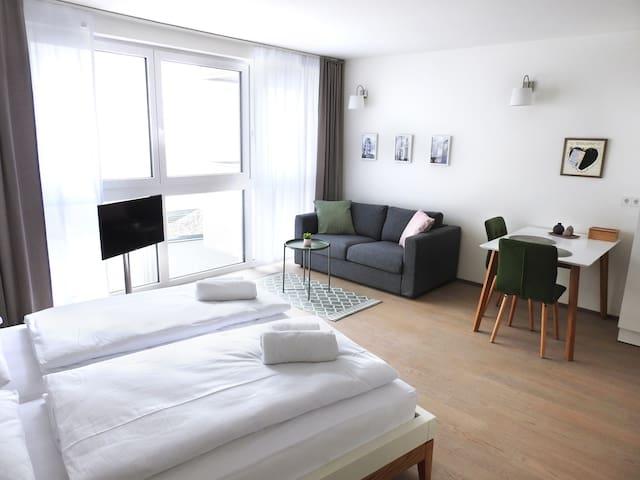 Charmantes ruhiges Apartment im Zentrum