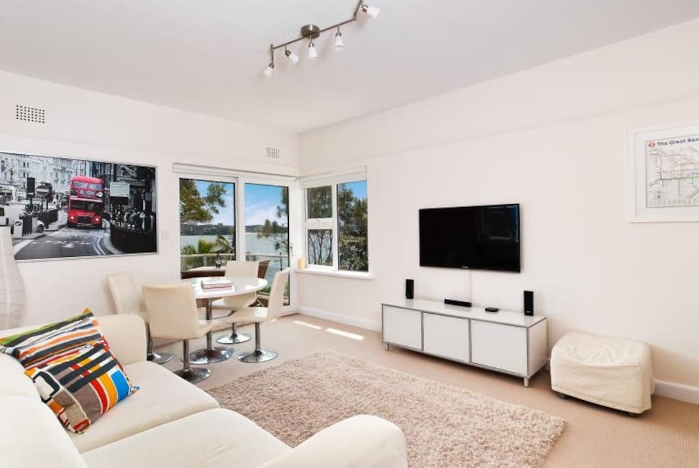 Relax in open plan living and dining area. Bright and spacious with stunning ocean views.