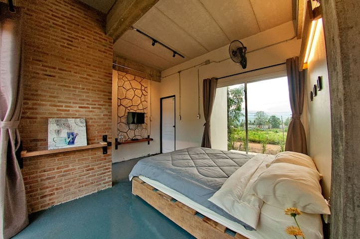 Loft Style Room Mountain View Pai 3 - ตำบล แม่ฮี้