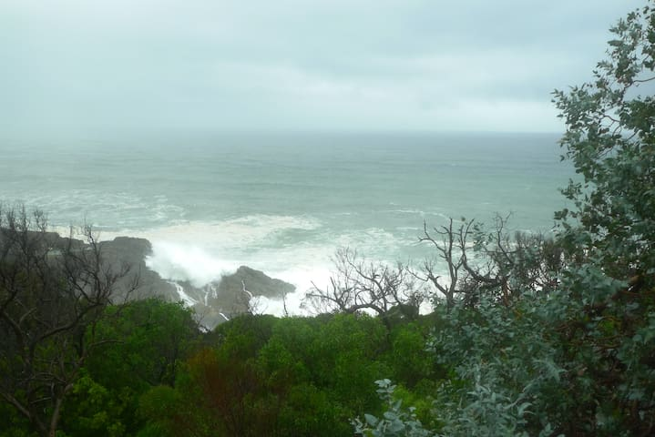 Enjoy watching stormy seas photo taken from the property