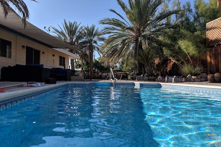 """3 Palms"" A Casita with POOL, PRIVACY & MORE!!!"