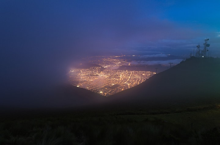 Watch Quito at night