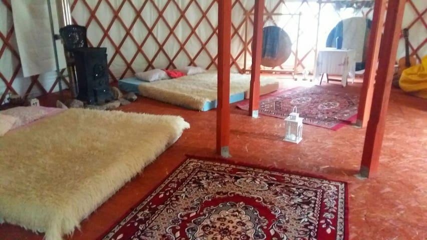 Yurt of the Kashubian region !!