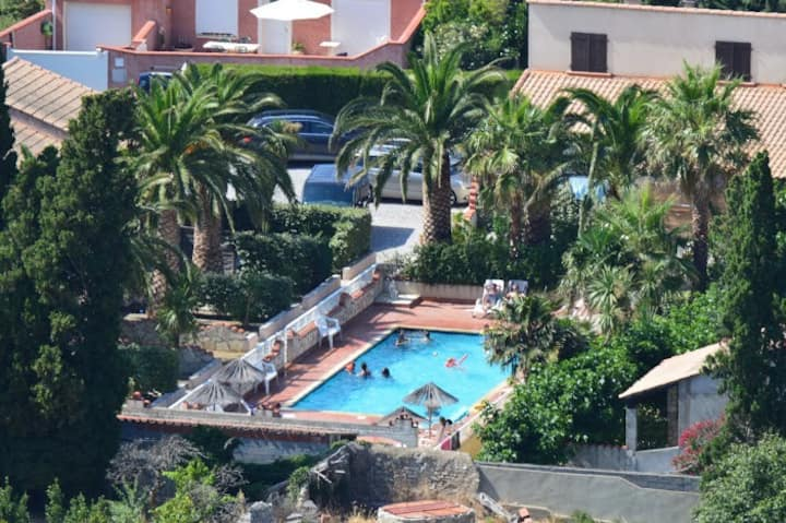 Gitelacapelle 2 chambres, piscine 10 mn plages...