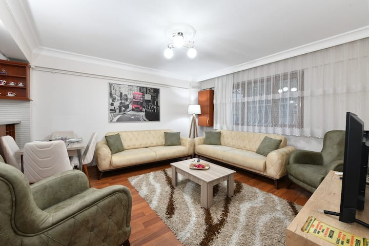 10min.walk distance to the CevahirMall and Metro