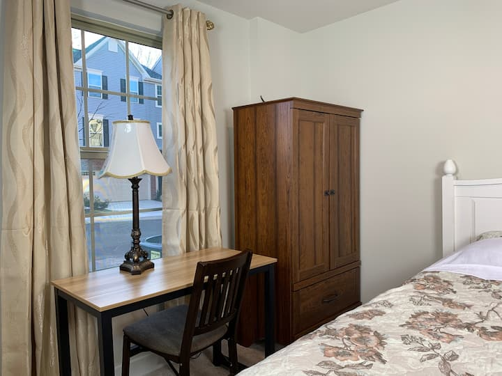 Charming room in new townhouse